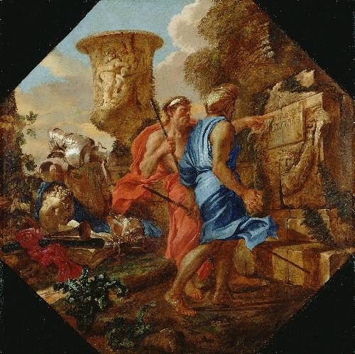 Arcadian Shepherds | Giovanni Benedetto Castiglione | oil painting