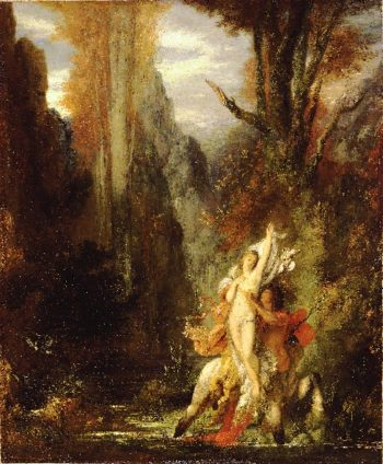 Dejanira (Autumn) | Gustave Moreau | oil painting