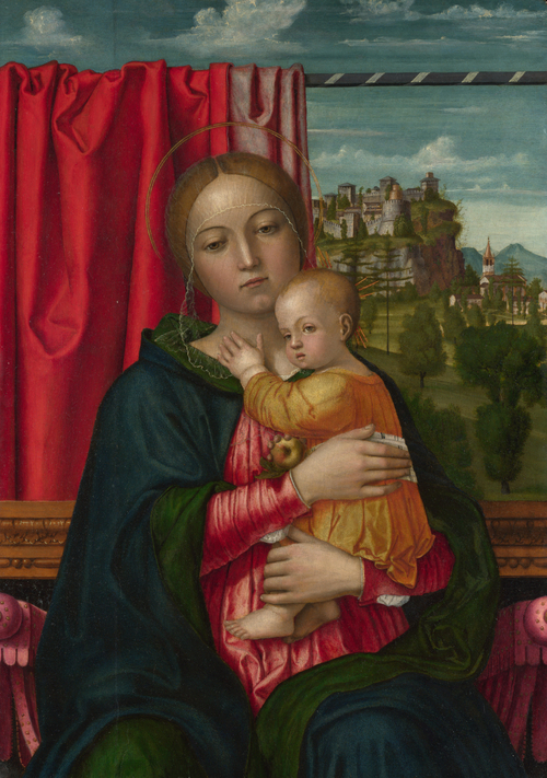 The Virgin and Child | Francesco Morone | oil painting