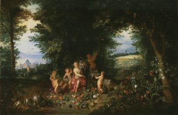 Landscape with Ceres (Allegory of Earth) | Jan Brueghel the Younger | oil painting