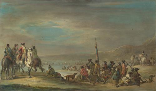 A Campaign Scene | Francesco Simonini | oil painting