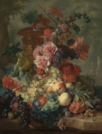 Fruit Piece | Jan van Huysum | oil painting