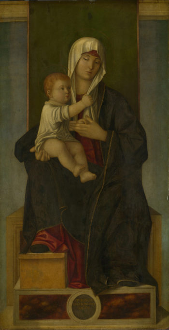 The Virgin and Child | Francesco Tacconi | oil painting