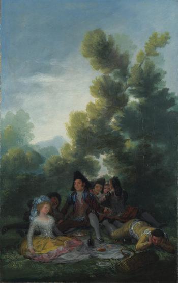 A Picnic | Francisco de Goya | oil painting