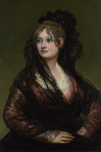 Doea Isabel de Porcel | Francisco de Goya | oil painting