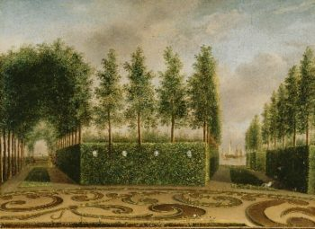 A Formal Garden | Johannes Janson | oil painting