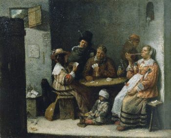 Card Players | Josse van Craesbeeck | oil painting