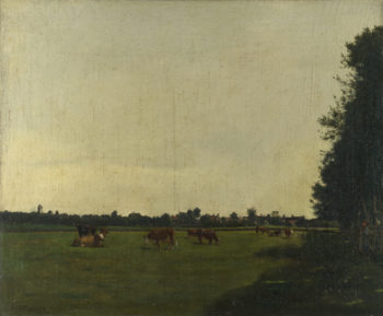 The Meadow | Francois Bonvin | oil painting