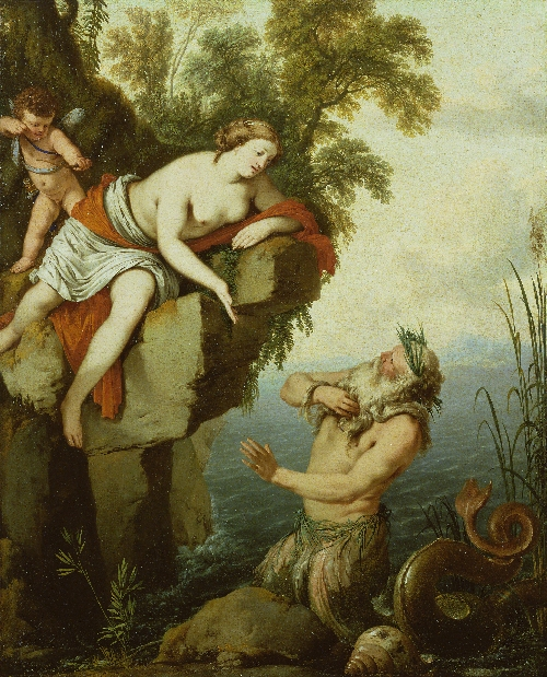 Glaucus and Scylla | Laurent de La Hyre | oil painting