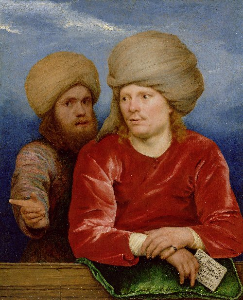 Double Portrait | Michael Sweerts | oil painting