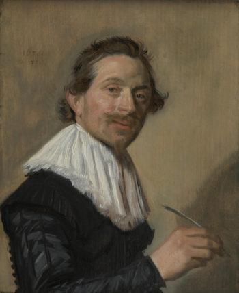 Portrait of Jean de la Chambre at the Age of 33 | Frans Hals | oil painting
