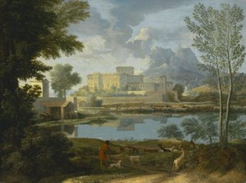 Landscape with a Calm | Nicolas Poussin | oil painting