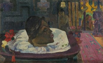 Arii Matamoe (The Royal End) | Paul Gauguin | oil painting