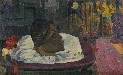 Arii Matamoe (The Royal End) | Paul Gauguin | oil painting