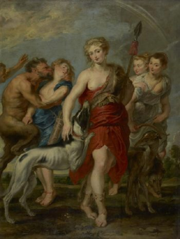 Diana and Her Nymphs on the Hunt | Peter Paul Rubens | oil painting
