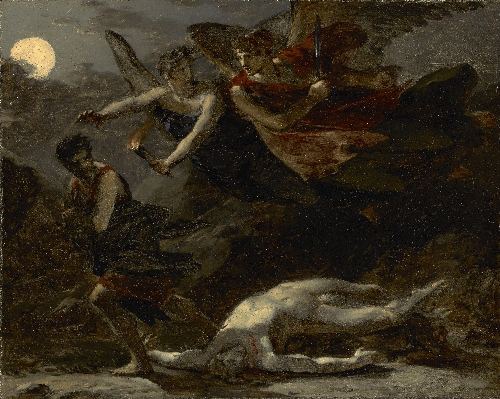 Justice and Divine Vengeance Pursuing Crime | Pierre Paul Prudhon | oil painting