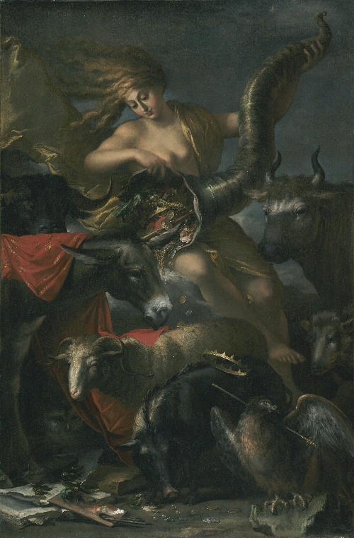 Allegory of Fortune | Salvator Rosa | oil painting