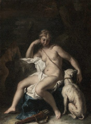 Diana and Her Dog | Sebastiano Ricci | oil painting