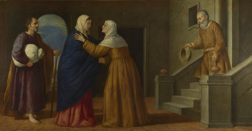 The Visitation | French or North Italian | oil painting