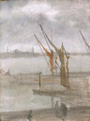 Grey and Silver: Chelsea Wharf
