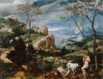 Landscape with Mercury and Argus | Unknown | oil painting