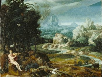 Landscape with Orpheus | Unknown | oil painting