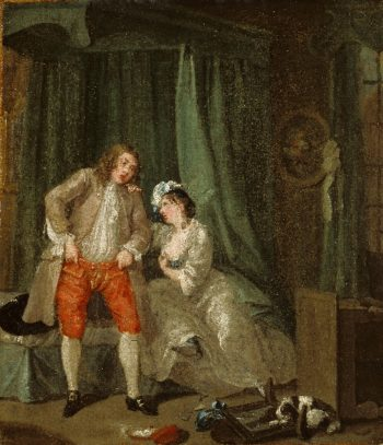 After | William Hogarth | oil painting