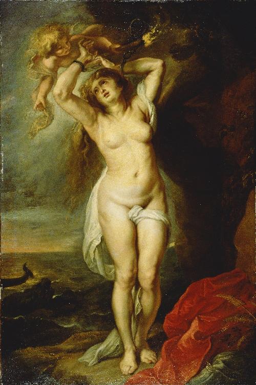 Andromeda | Workshop of Peter Paul Rubens | oil painting