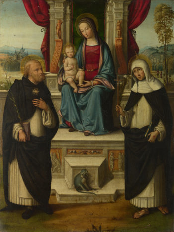 The Virgin and Child with Saints | Garofalo | oil painting