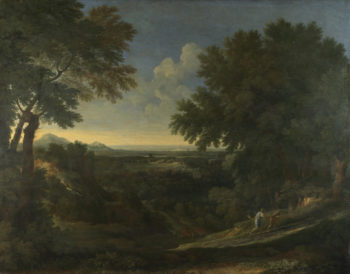 Landscape with Abraham and Isaac | Gaspard Dughet | oil painting