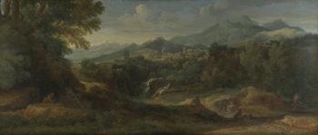 Tivoli | Gaspard Dughet | oil painting