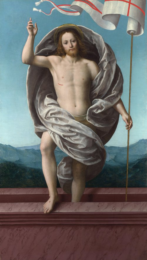 Christ rising from the Tomb | Gaudenzio Ferrari | oil painting