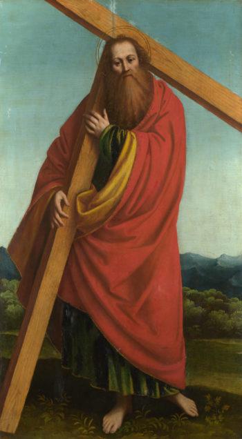 Saint Andrew | Gaudenzio Ferrari | oil painting