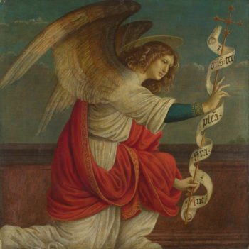 The Angel Gabriel | Gaudenzio Ferrari | oil painting