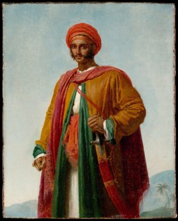 Study for Portrait of an Indian | Anne-Louis Girodet-Trioson | oil painting
