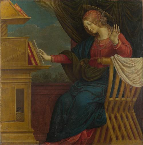 The Virgin Mary | Gaudenzio Ferrari | oil painting