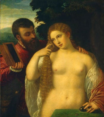 Allegory (Possibly Alfonso d'Este and Laura Dianti)
