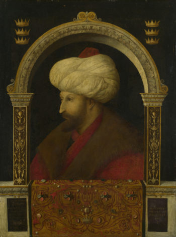 The Sultan Mehmet II | Gentile Bellini | oil painting