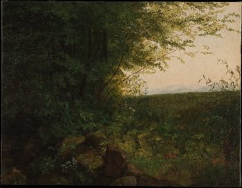 At the Edge of the Forest (ca 1820) | August Heinrich | oil painting