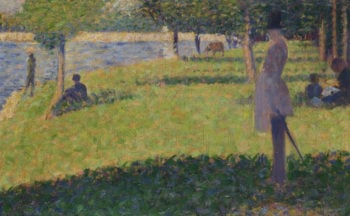 Study for La Grande Jatte (1) | Georges Seurat | oil painting
