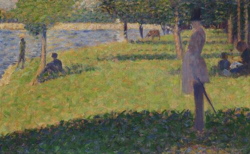 Study for La Grande Jatte (1) | Georges Seurat | oil painting