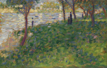 Study for La Grande Jatte | Georges Seurat | oil painting
