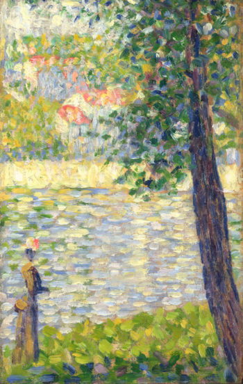 The Morning Walk | Georges Seurat | oil painting