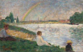 The Rainbow | Georges Seurat | oil painting