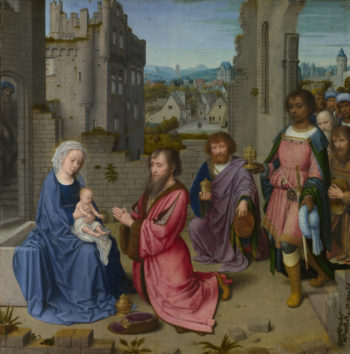 Adoration of the Kings | Gerard David | oil painting