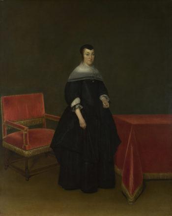 Portrait of Hermanna van der Cruis | Gerard ter Borch | oil painting