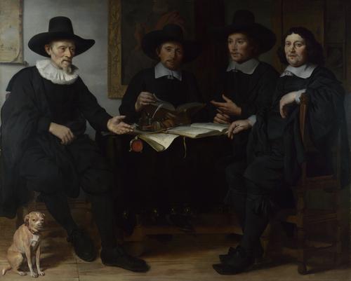 Group Portrait | Gerbrand van den Eeckhout | oil painting