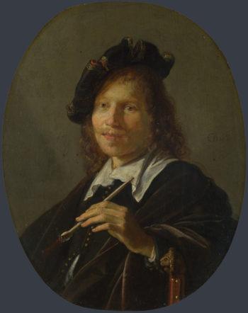 Portrait of a Man | Gerrit Dou | oil painting