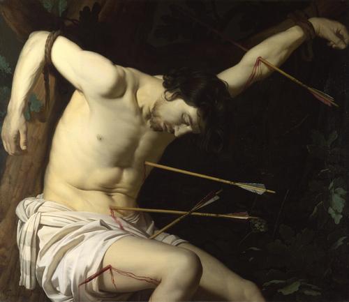 Saint Sebastian   Gerrit van Honthorst   oil painting