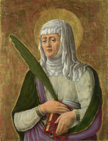 A Female Saint | Giorgio Schiavone | oil painting